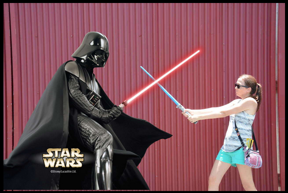 Star Wars Weekends Darth Vader photo