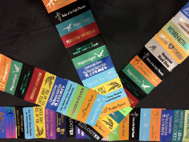 GeekyCon 2015 - Badge Ribbons