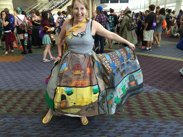 GeekyCon 2015 - Hogwarts Castle Cosplay