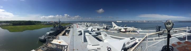 Charleston Harbor from Patriots Point