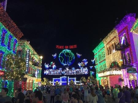 The Osborne Spectacle of Dancing Lights, Disney World