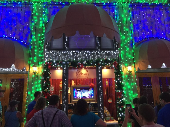The Osborne Spectacle of Dancing Lights, Disney World