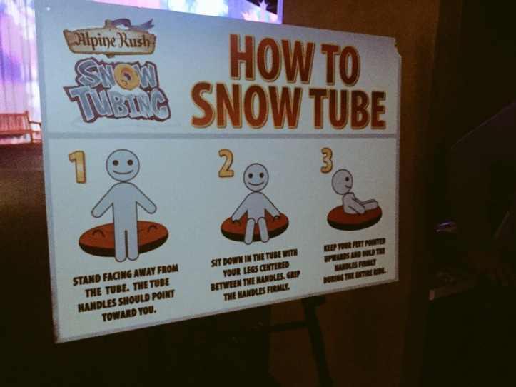 How to Snow Tube