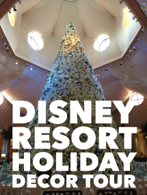 Self-Guided Free Disney Resort Holiday Decor Tour