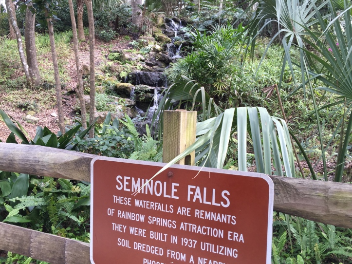 florida waterfalls locations naples state parks rainbow springs park