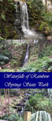 Add this to your Bucket List! See Three Waterfalls at Rainbow Springs State Park in Florida.