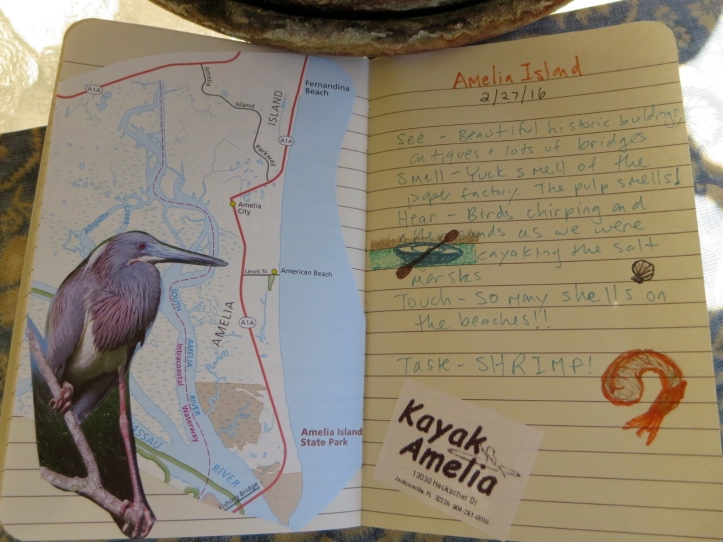 Easy Travel Journaling - Amelia Island