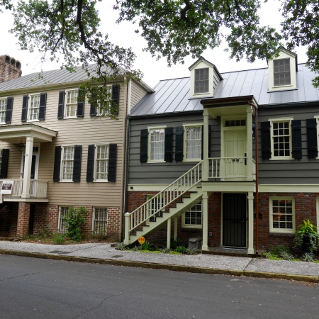 Houses along Washington Square
