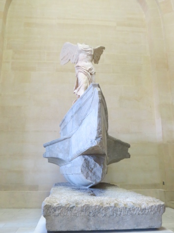 One Day In Paris - Nike of Samothrace