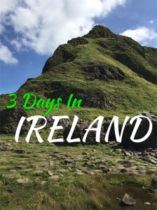 Three Days In Ireland