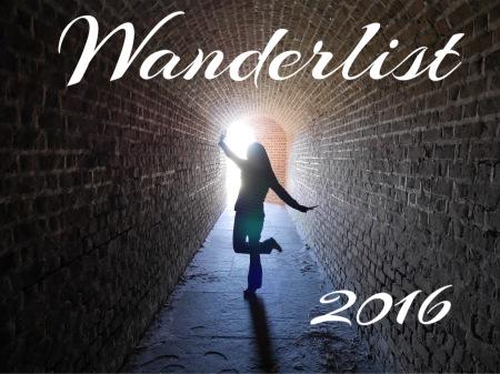 Wanderlist 2016