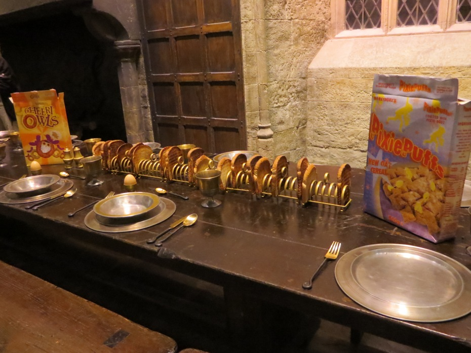 Warner Brothers Studio Tour - Breakfast at Hogwarts