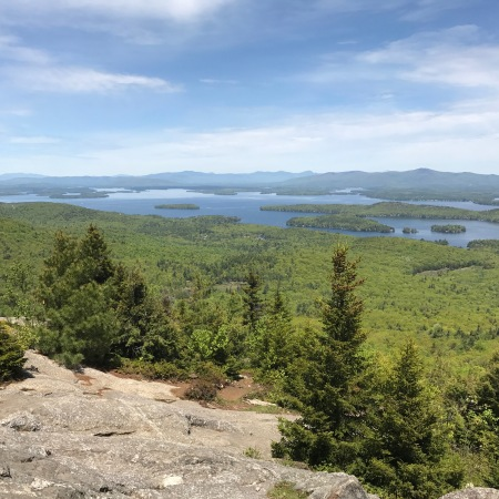 Trying to hike Mount Major